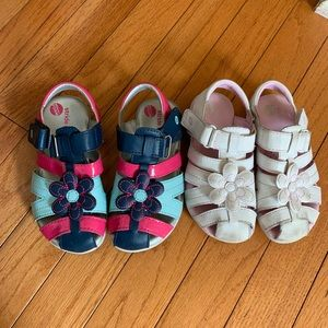 Two Stride Rite Girls Sandals